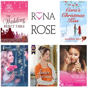 Rona Rose cover images